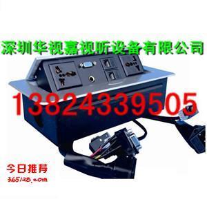 高清HDMI翻蓋桌面插座 多功能接線盒 多媒體信息接口插座廠家直銷