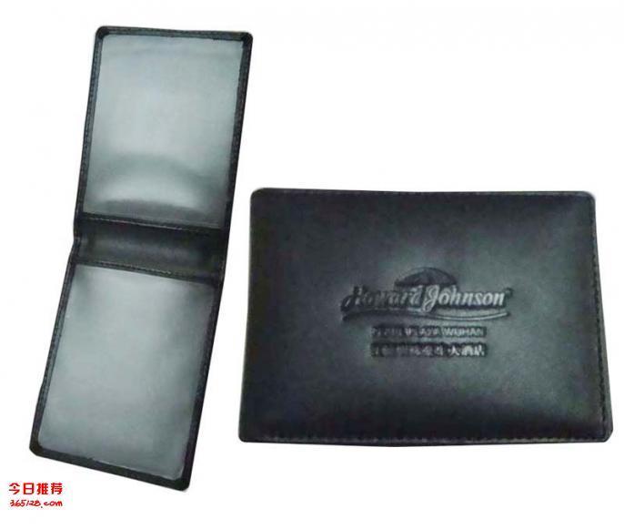 西安钥匙包 证件夹封皮烫金制作 小皮具夹批发