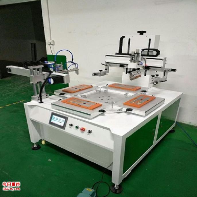杭州丝印机厂家纸类平千仞竟然�碛兄�神器面丝网印刷机