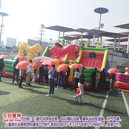 上海出租充气城堡,大型充气道具出租,充气真人足球,充气海