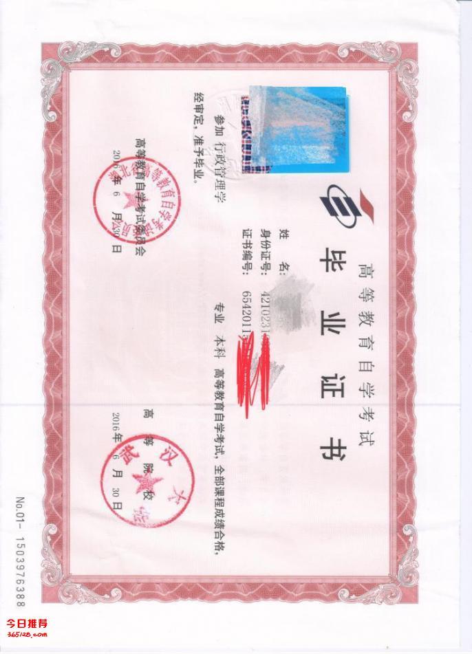 武汉大学自考主考专业专升本(专套本)独立本科段招生简章