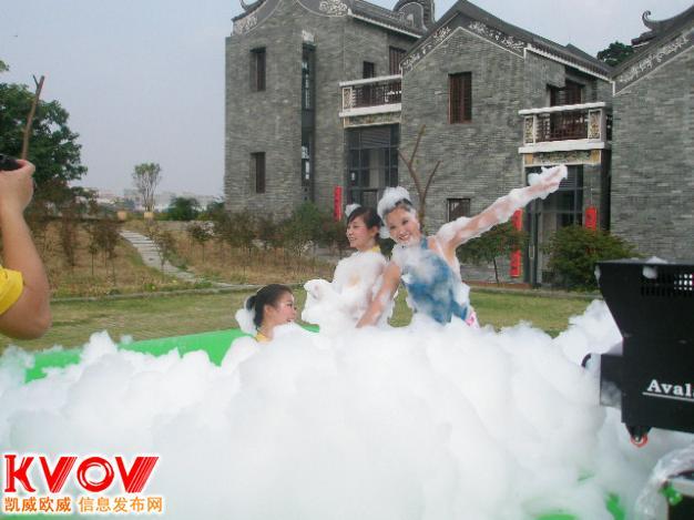 厂家供应珠海盛夏沙滩泡沫机户外活动泡沫机演唱会泡沫机