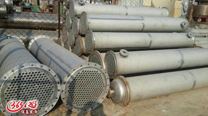 二手全新不锈钢,花二手的钱买全新的设备,邯郸二手列管冷凝器定价