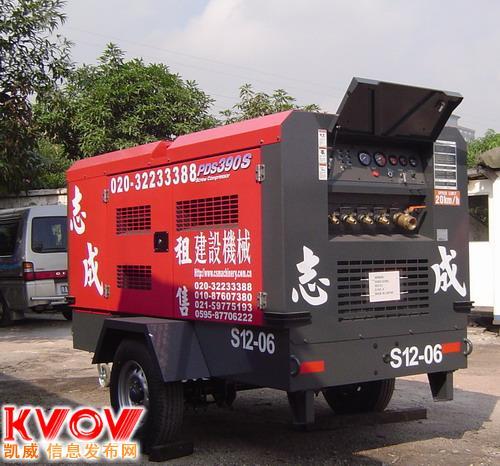 山西宝鸡出租螺杆空压机 移动柴油空压机租赁