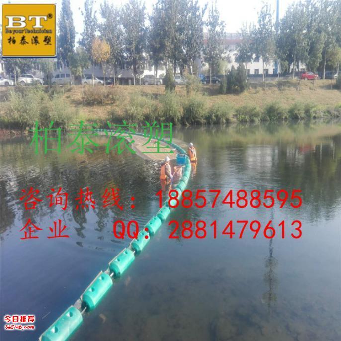 河北優質防護網浮筒 垃圾攔截浮排報價
