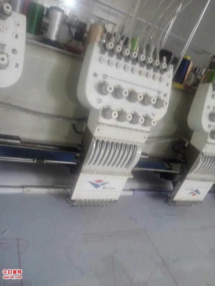 出售6针28头以上300头距大框机器多台