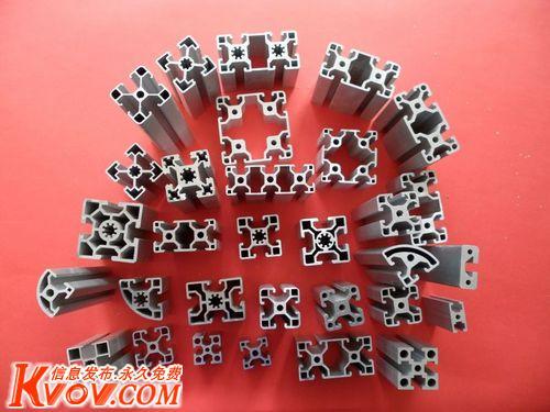 北京铝合金工业型材电子散热器流水线型材