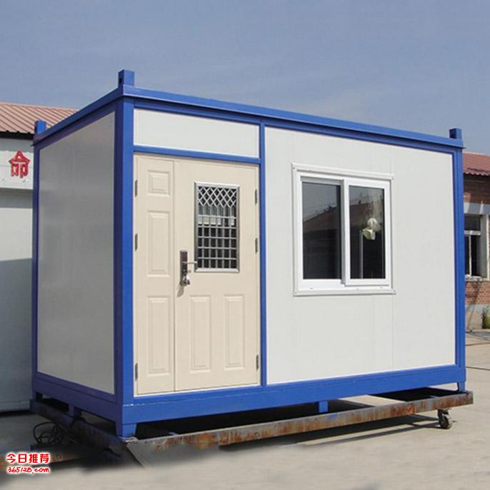 广州工地住人集装箱租赁 出售 可配床空调 6元每天