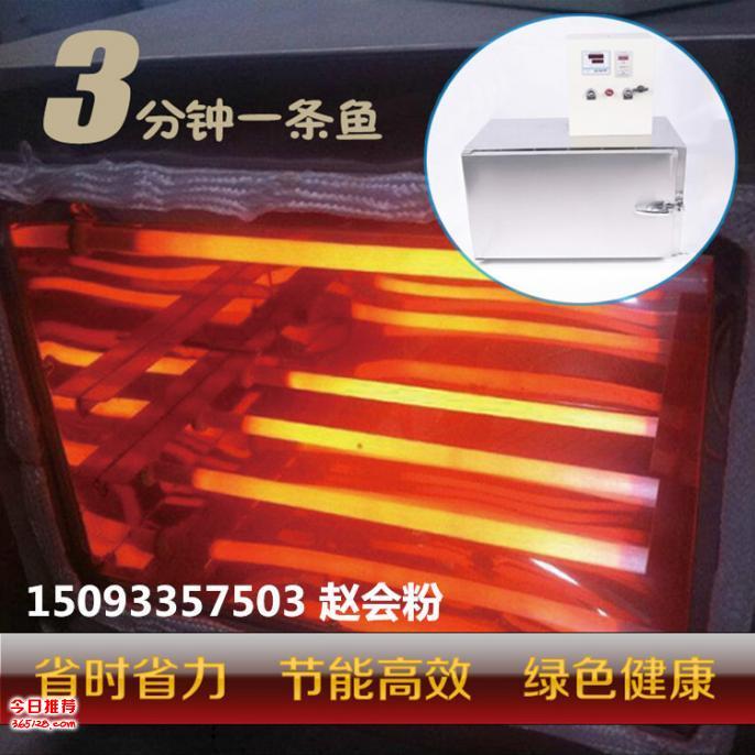 常德市供应单层电烤鱼箱  不锈钢烤串机电烤盘生产厂家