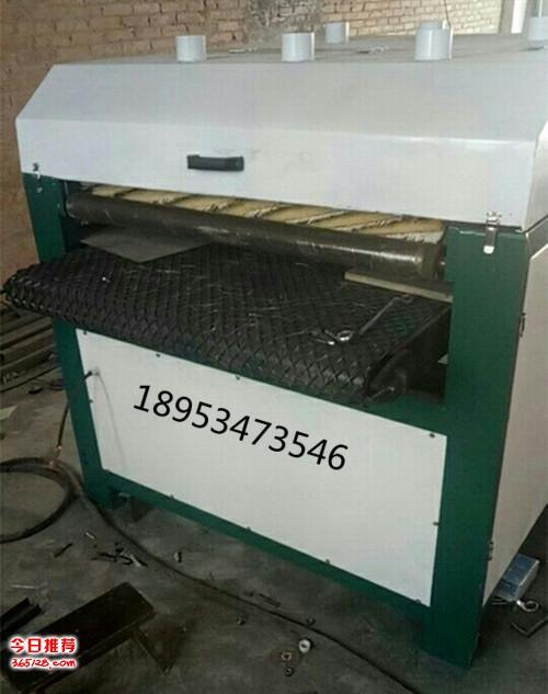 仿古木板拉丝机压纹机刷出自然木纹或表面拉丝