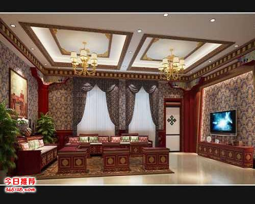 装饰设计效果图-西藏口碑好的装饰哪家好-西藏集森装饰设计有