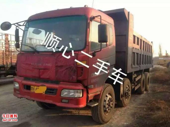 轻皮前四后八自卸车东风特商创普砂石王6米260马力