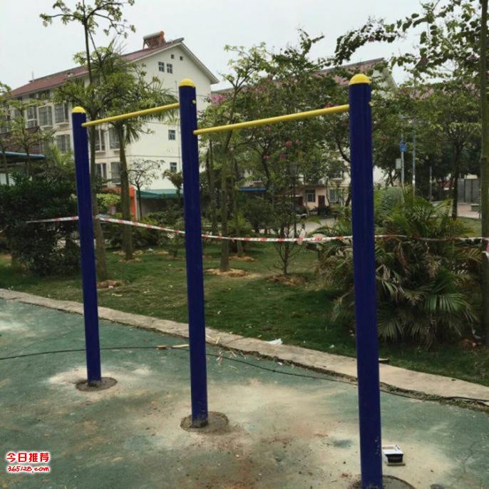 供应小区公园户外健身路径联体单杠 军用训练单杠