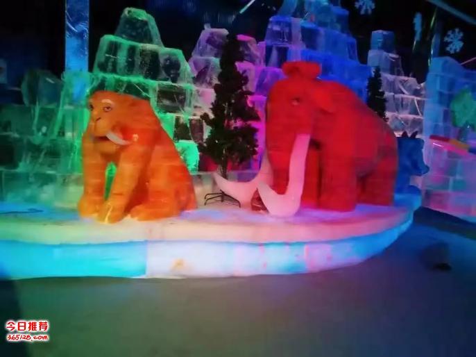 陕西铜川专业制作灯光靓化科技灯光节租售雪质冰雕展租赁