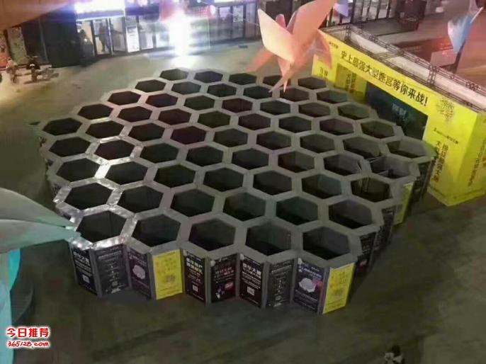 广西防城港强脑蜂巢迷宫租赁厂家定制一手现货大型艺术蜂巢迷