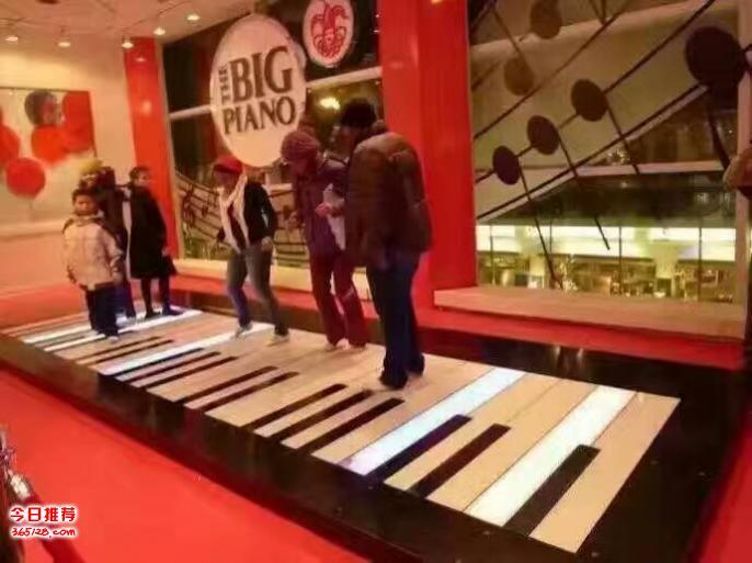 河北廊坊艺展互动地板钢琴租赁,多人挑战蜂巢迷宫租售,儿童
