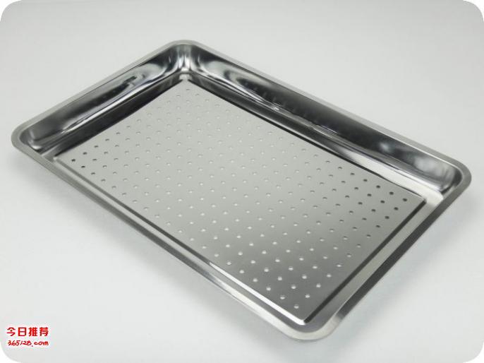 不锈钢方盘深_不锈钢托盘冲孔_三六不锈钢盘子
