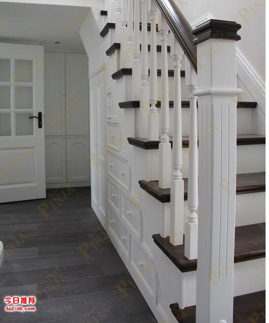 上海楼梯铺实木踏板_橡木实木楼梯材质_榉木简欧楼梯