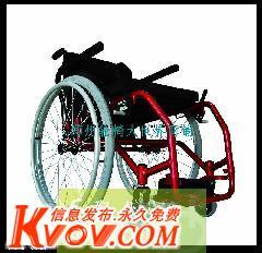 超轻航空铝运动休闲轮椅