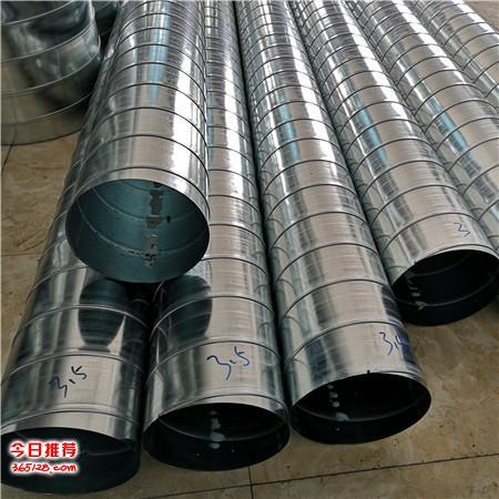 中山圓形風管加工 承接通風螺旋風管加工的廠家