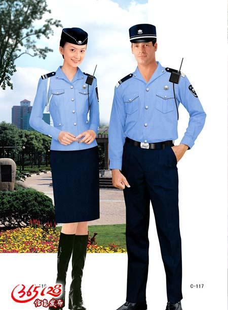 巫山售房部保安服定制,巫山房地产开发形象保安服定制