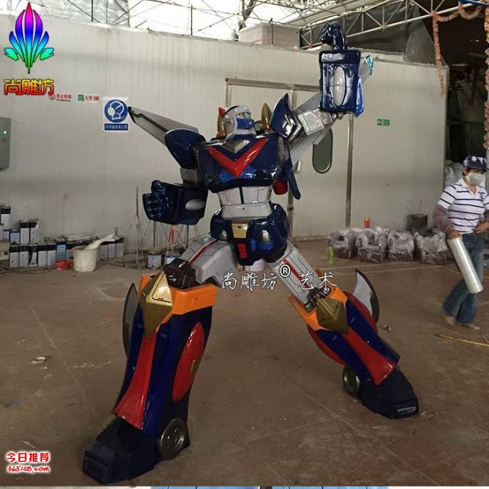 尚雕坊2016年最新款机器人雕塑模型之3 科幻影视人物大型玻璃