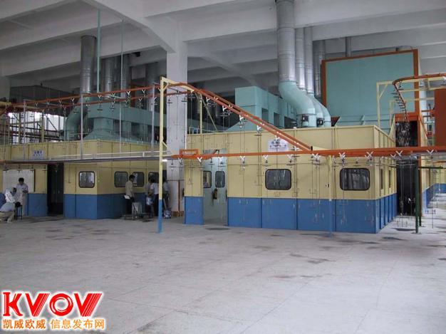 惠州二手回收喷涂设备二手涂装生产线自动化UV循环烤漆喷涂线