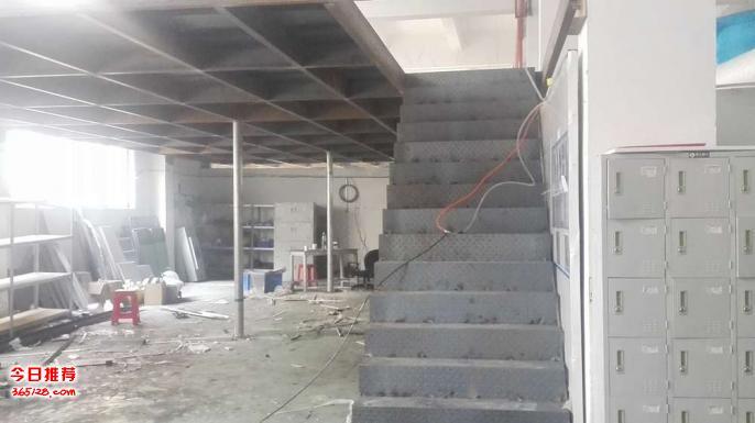 沙井阁楼办公室装修公司松岗钢结构隔层装修