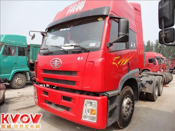 大庆二手出售解放J5 欧曼 豪沃德龙双驱高栏货车 罐车  自卸车