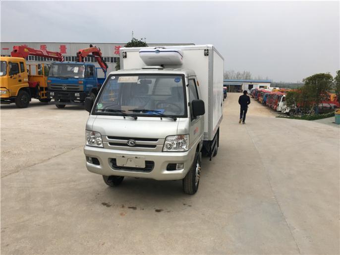 福田驭菱2.9米后双轮国五冷藏车,便宜款,实惠价,工厂直销