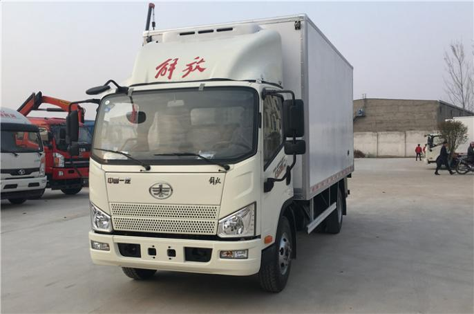 解放虎VH 5.2米冷藏车和 解放J6F 5.2米冷藏车出售价格,便宜卖