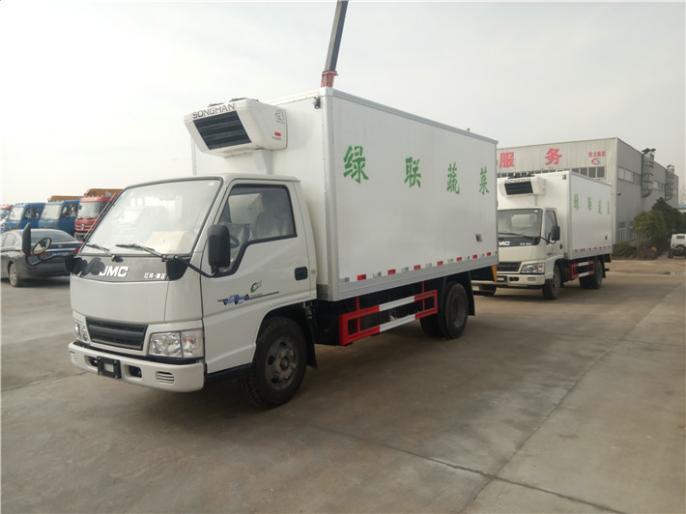 江铃新顺达海鲜冷藏车多功能运输, 冷藏车厂家出售,价格低,