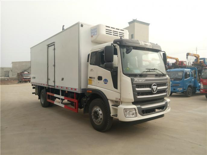 福田瑞沃6.7米冷藏车,现车出售,全国有售包送车,包上户