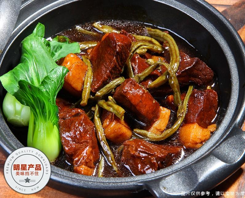 中式快餐10大品牌,锅先森台式卤肉饭