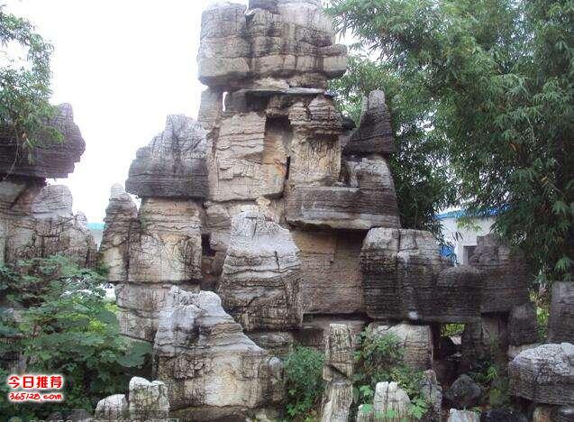 假山塑石流水盆景噴泉魚池 園林項目
