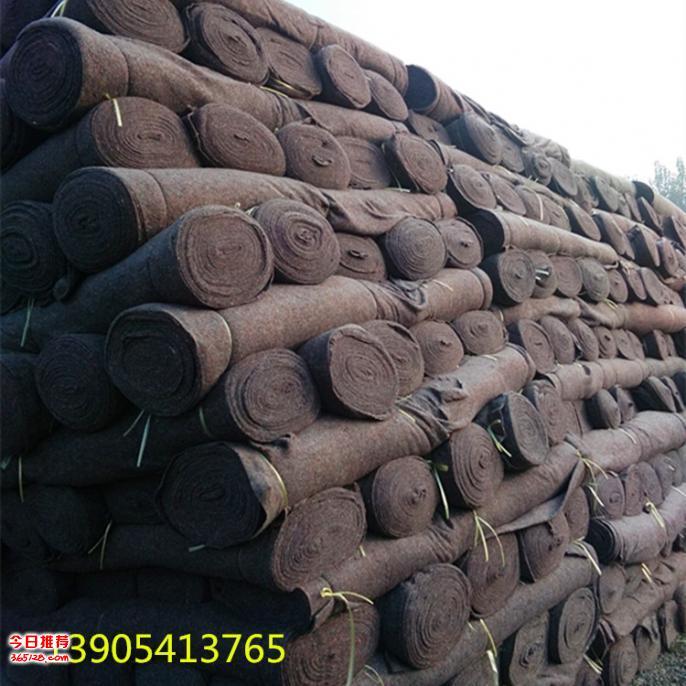 供应济南海诺公路养护保湿保温毛毡厂家直销价格低