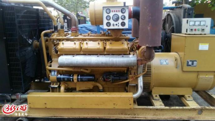 批发二手柴油发电机组重气斯太尔300千瓦,安庆国产二手发电机