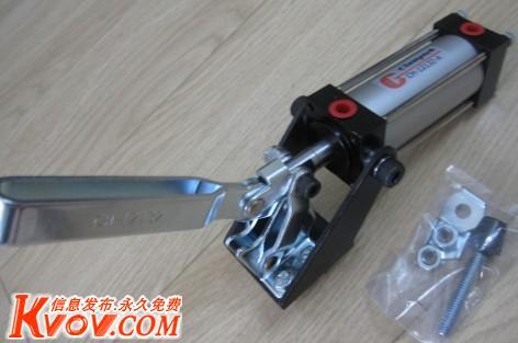 供应嘉刚气压夹钳 气动夹钳多种型号工装夹具ch-12132图片