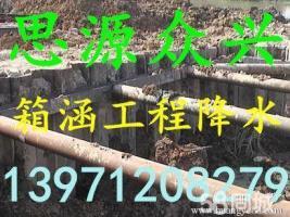 安庆宿松望江职业打井降水《思源众兴钻井公司》机械打井基坑降水