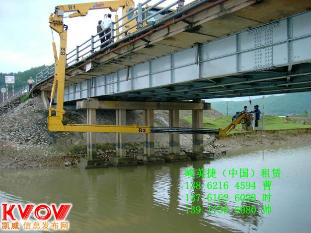 山东桥梁检测车出租济南市高架桥检测车出租