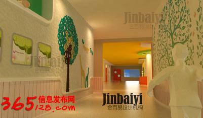 幼儿园橱窗设计/幼儿园卫生间设计/幼儿园施工组织