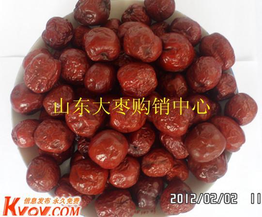 供应健康大红枣 山东大红枣图片