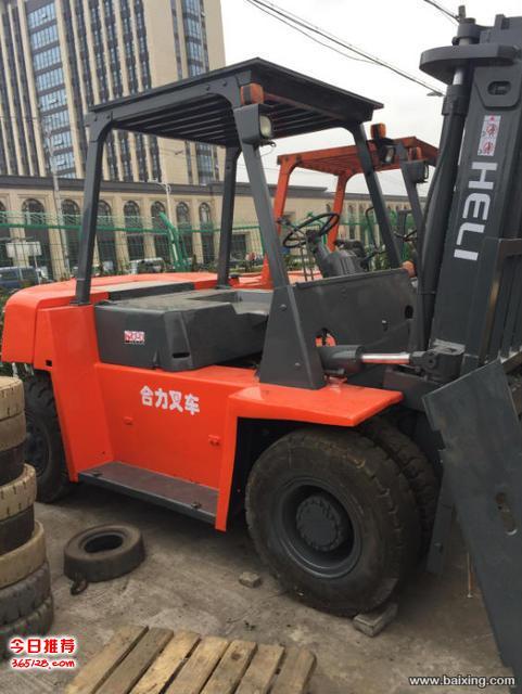 上海虹口区叉车回收、合力杭州叉车回收