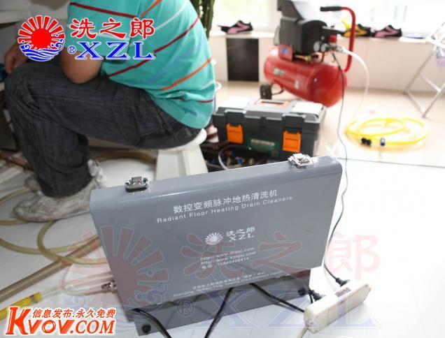 沈阳地热清洗 地热维修 安装循环泵.更换分水器