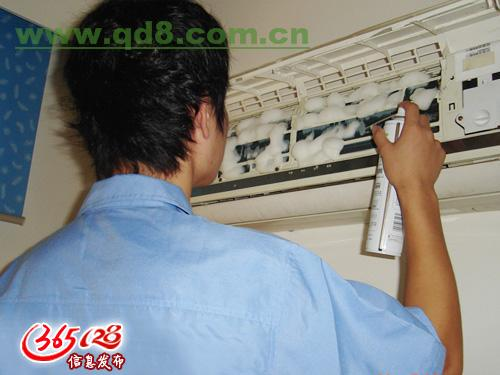深圳罗湖东晓清洗空调服务 室内室外机空调清洗