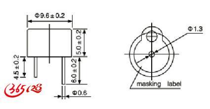 制造电声:蜂呜器.喇叭.扬声器.一体 .有源.无源 5V 电磁式 压