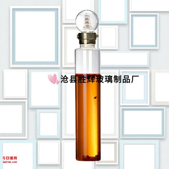 玻璃工艺泡酒瓶泡参玻璃瓶大容量
