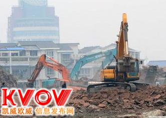 挖掘机出租上海松江区专业基础开挖-混凝土破碎