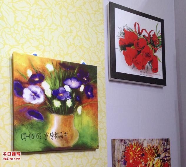 深圳装饰画,油画布,无框画,壁纸,壁画喷绘打印展厅装修