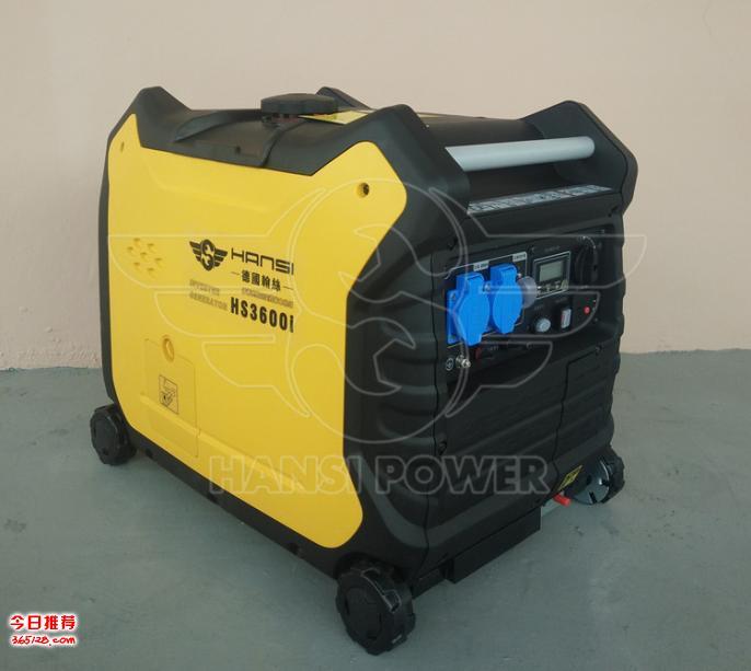 3千瓦静音汽油发电机 hs3600i